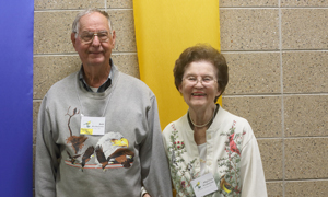 Bob and Phyllis Nickolson